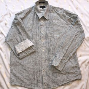 Other - Unique men's button down with sleeve detail